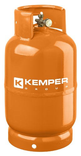K Kemper 1162 Kemper Flasche leer 5 kg, Orange, 5 kg