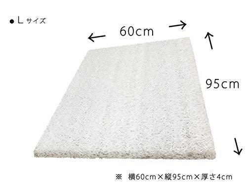 ポリエチレン樹脂 高反発ドッグマット カバー無し ペット 腰痛 床ずれ防止 3Dエア ケアマット(L)