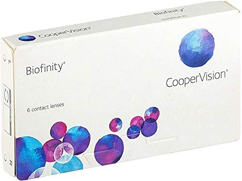 Biofinity - Lentes de contacto esféricas mensuales (R 8.6 / D 14 / -4.5 Diop), Pack de 6 uds.