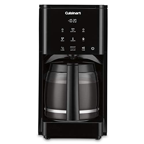 Cuisinart DCC-T20 14-Cup Programmable Coffeemaker Touchscreen, Black