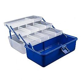 Boîte À Outils Boîte à outils portable Organisateur avec poignée Coque à outils multicouche d'électricien de pêche à la…