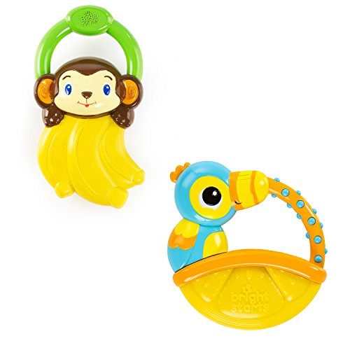 Bright Starts Vibrations Teether, (Style may vary)