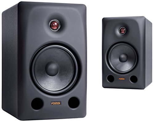 Fostex PX-6 Professional Monitor Speakers, Set of 2, Black