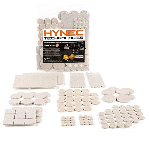 Hynec Almohadillas Fieltro Adhesivo Premium Muebles