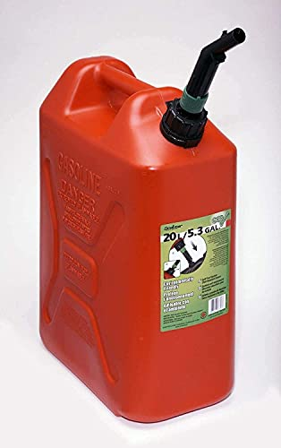 Scepter 5 Gallon Military Style Gas Container, EPA Compliant Gas Container