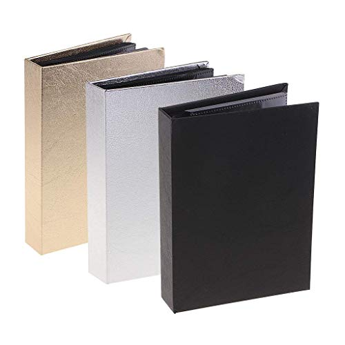 KTDT 3X Nagelaufkleber/Foto- / Bildspeicher Display Organizer Stamp Album Book