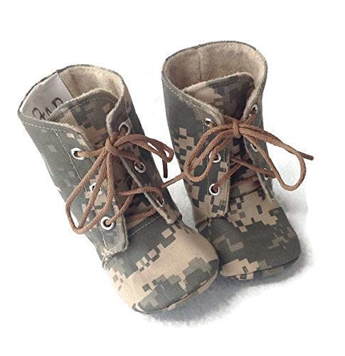 Army Baby Combat Boots: Handmade