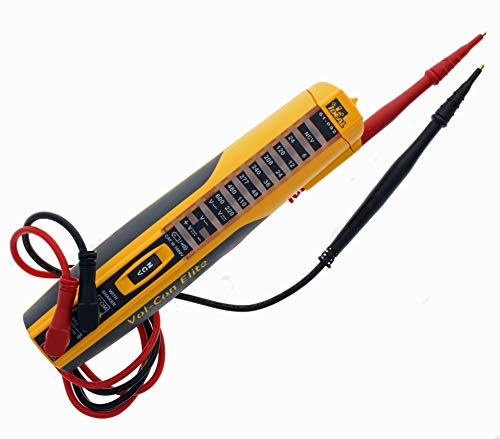 IDEAL INDUSTRIES INC. 61-092 Vol-Con Elite Voltage Tester with Vibration Mode, AC/DC Voltage Level Testing, CATIII for 1000v