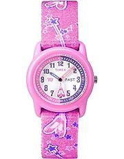 Timex Reloj analógico para niños con Correa de Tela elástica de 28 mm