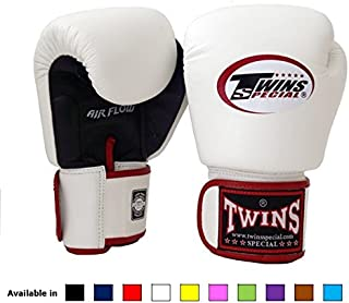 Twins Special Muay Thai Boxing Gloves BGVLA 2 Air Flow Gloves. Univesal Gloves for Training or Sparring.