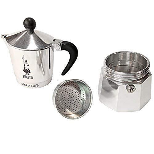 Bialetti 5923 Cafetière Italienne Break pour 3 Tasses Noir