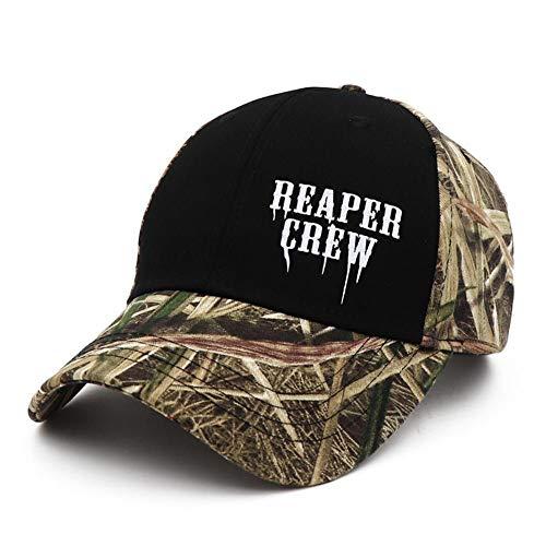 DGFB SOA Camo Hüte Sons of Anarchy Für Reaper Crew Fitted Baseball Cap Frauen Männer Briefe Drucken Hut Hip Hop Hut Für Männer