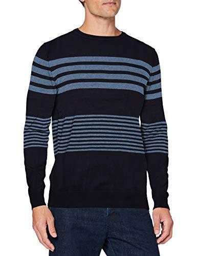 Springfield 1408518 Maglione Pullover, Blu, XL Uomo