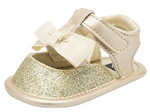 DEMU Baby loopschoenen sandalen zachte loopschoenen slippers voor kleine kinderen Innelänge 13cm goud