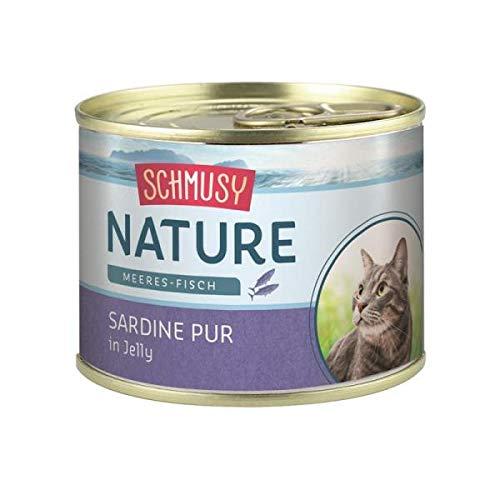 Schmusy Nature con sardina, 12 x 185 gr.