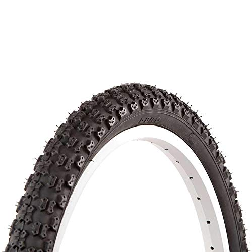 "EVO Splash 18 in Bike Tire - 18"" x 1.75 Bicycle Tire - Black"