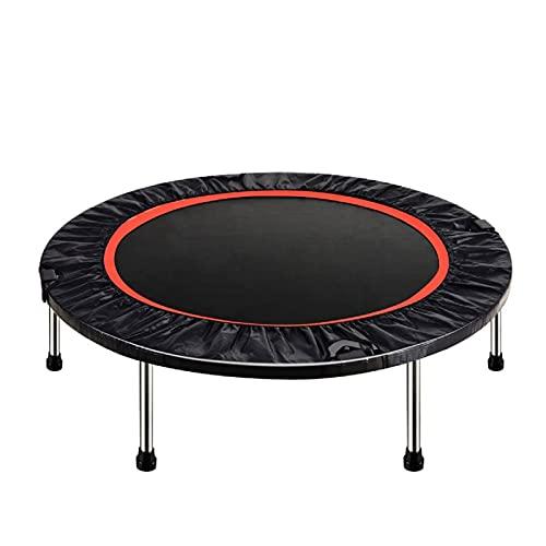 Trampolín Ronda de la Aptitud Trampolines 122cm Trampolín Fitness Plegable para Uso en Exteriores e Interiores hasta 200 kg,