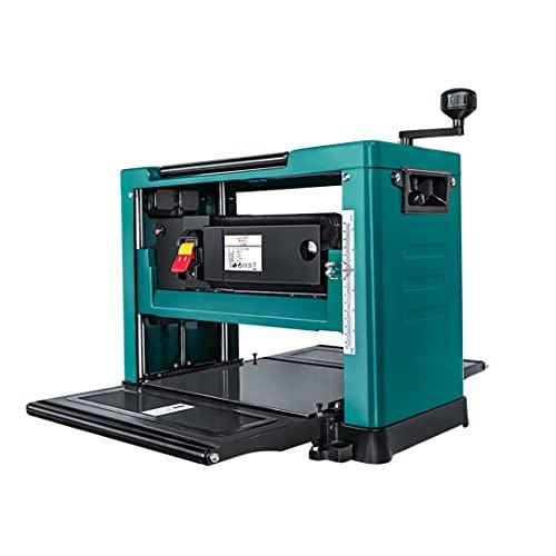 Cepilladoras eléctricas de sobremesa de 13 pulgadas 8000r / min, cepilladora eléctrica de escritorio para carpintería, herramientas para el hogar, máquina cepilladora de mesa pequeña