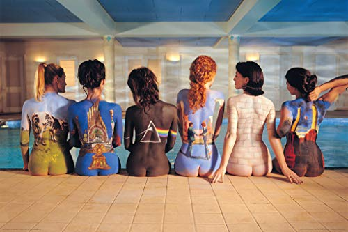 Pink Floyd - Back Catalogue Poster 36 x 24in by Unknown