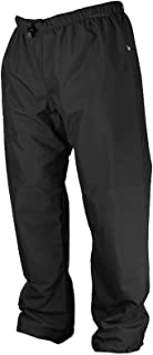 product image for WaterShed 925043-TBK-3XL StormShield Double Knee Waterproof GORE-TEX Waist Pant with Drawstring and Ankle Snaps, 3XL, Black