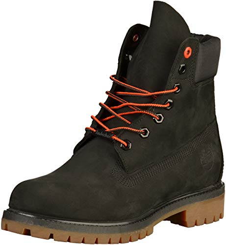 Timberland Icon 6Inch Premium Boot, schwarz - orange, 45 EU