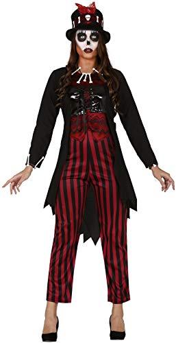 Damen Kostüm Voodoo Hexe gruselig gruselig Halloween Karneval Kostüm Outfit UK 10-16