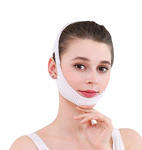 V Line Lifting Chin Strap for Women Eliminates Sagging Skin Lifting Firming Anti Aging .Facial Slimming Strap, Pain-Free Face-Lifting Bandage