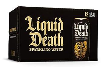 Liquid Death Sparkling Water 16.9 oz Tallboys  12-Pack