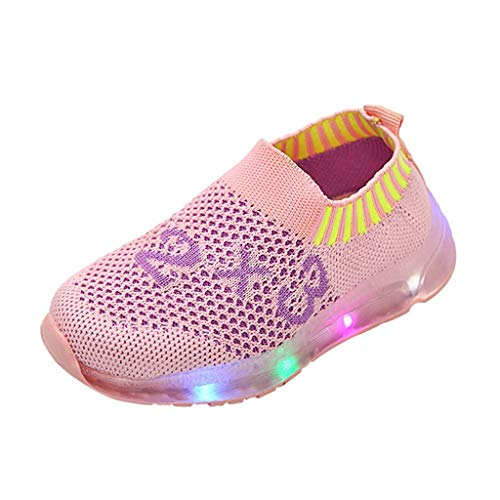 Great Features Of Children Kid Baby Girl Boy Led Light Luminous Sport Socks Sneakers Casual Shoes