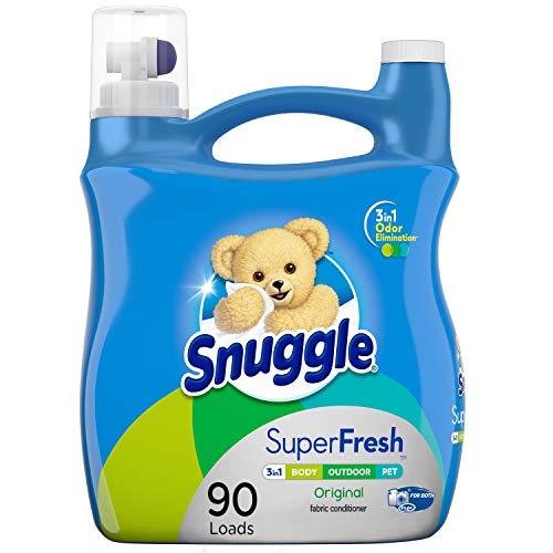 Snuggle Plus Super Fresh Liquid Fabric Softener with Odor Eliminating...