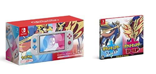 Nintendo Switch Lite ザシアン・ザマゼンタ + 『ポケットモンスター ソード・シールド』ダブルパック -Swi...