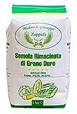 1kg Semola Rimacinata Di Grano Duro Siciliano Tipo Speciale - Molino Zappalà