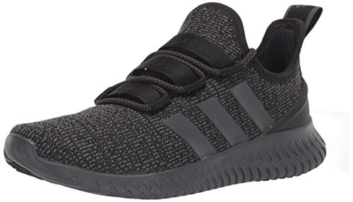 adidas mens Kaptur Sneaker, Black/Grey/Grey, 9.5 US
