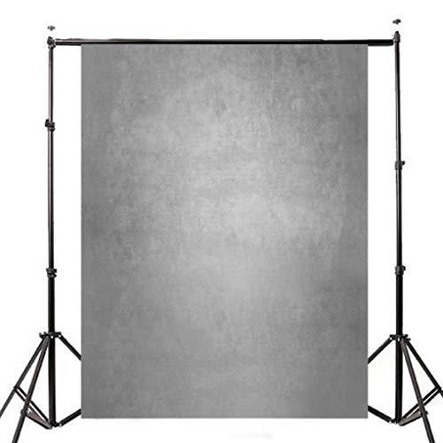 Yongse 5x7ft Farbverlauf Grau Fotografie Foto Vinyl Hintergrund Studio Hintergrund Requisiten