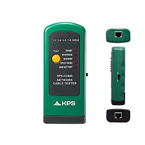 KPS-CC620 Comprobador cable de red RJ45 Ethernet UTP Jack RJ-45