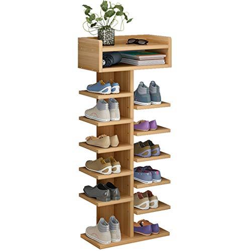 Yyqx Zapatera Estante Moderno Simple del Zapato de la Puerta, Estante de múltiples Capas Simple del Zapato de la asamblea del hogar Zapatero