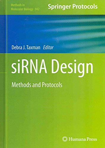 [ SIRNA DESIGN: METHODS AND PROTOCOLS (2013) (METHODS IN MOLECULAR BIOLOGY (HARDCOVER) #942) ] Taxman, Debra J (AUTHOR ) Oct-02-2012 Hardcover