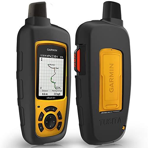 TUSITA Case Compatible with Garmin inReach SE+,inReach Explorer Plus - Silicone Protective Cover - Satellite Tracker Accessories