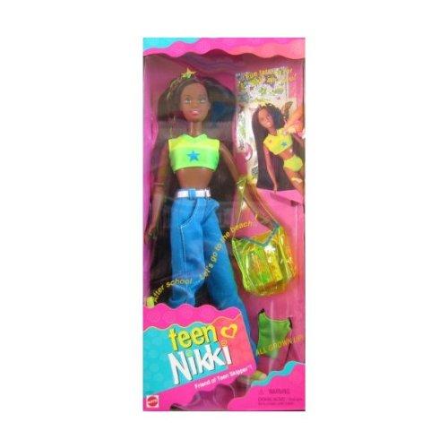 Teen NIKKI AA Doll, Friend of Skipper All Grown Up w Fun Tattoos (1996)