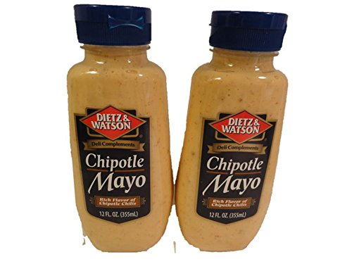 Dietz Watson Large discharge sale 2021 Chipotle 2 Bottles Mayo