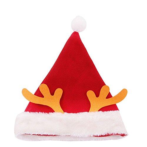 Kicode TOPmountain Renna Elk Antlers Natale Cappello di Lana Festival Caldo Inverno Copricapo per Bambini Regalo
