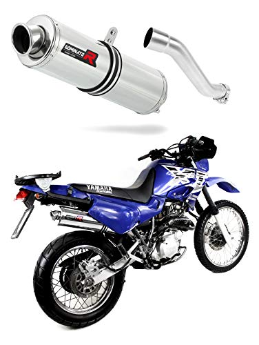 XT 600 Escape Moto Deportivo Redondo Silenciador Dominator Exhaust Racing Slip-on 1990...
