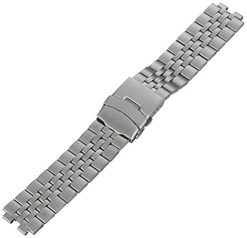 Kreisler SM22001 22mm Tech Smart Band Stainless Steel Silver Watch Bracelet