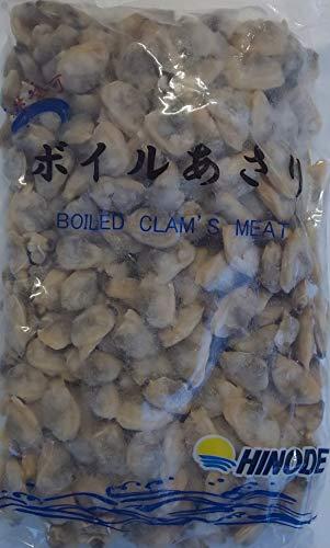 生食可能 ボイルムキ あさり 1kg ×10袋 ( 袋300-500粒 ) 業務用 冷凍 中国産