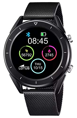 Lotus 50007/1 Smartime Smart Watches Uhr Herrenuhr 10 bar Digital Datum Schwarz