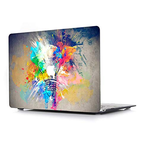 Hulle fur Apple MacBook Pro Neu 15 Zoll Retina Display mit Touch Bar Modell A1990A1707 L2W Plastik Laptop Computer Zubehor Bundle Kreativ Design Schutzhulle Tasche Muster Cover Die Gluhbirne