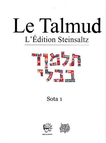 Le Talmud : Tome 17, Sota 1