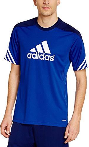 adidas Sereno 14, Camiseta Para Hombre, Multicolor (Azul / Blanco), M