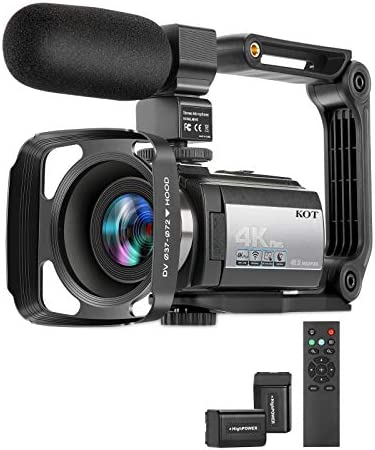 Video Camera Camcorder 4K 60FPS Ultra HD Digital WiFi Camera 16X Digital Zoom Recorder 48MP product image