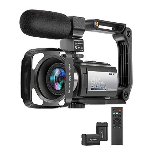 Video Camera Camcorder 4K 60FPS ...